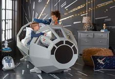 Force Friday: 5 toys my inner-geek wants now New goodies include a Pottery Barn Millennium Falcon bed and a working BB-8 droid.