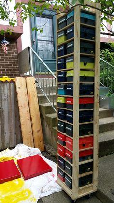 Shopsmith Tool Box Roll Around Shelf #shopsmith #storage #woodworking