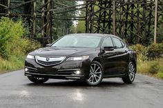 2015 Acura TLX left angle v2 /// 2015 ACURA TLX V6 SH-AWD REVIEW