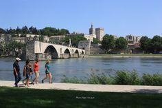 Balade à Avignon - http://www.provence-en-famille.fr