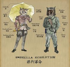 Hong Kong Umbrella Revolution on Behance
