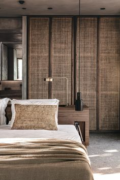 The third manifestation of the Casa Cook resort brand, Casa Cook Chania is a continuation of the brand's image of texturally enriched comfort. Home Bedroom, Master Bedroom, Bedroom Decor, Bali Bedroom, Bedrooms, Hotel Bedroom Design, 70s Bedroom, Casa Cook Hotel, Home Interior