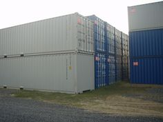 40 ft Length 9.5 High Cube  Steel Shipping Containers Water Tight Columbus, Ohio