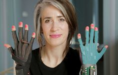 Rather than simply fusing musical genres, Imogen Heap is instead fusing wearable technology and music with her ingenious invention, Mi.Mu gloves.