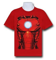 Toddler Boy/'s Iron Man Tee Shirt The Armored Avengers T-Shirt NEW Licensed