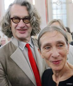 Pina Bausch and Wim Wenders, 2008
