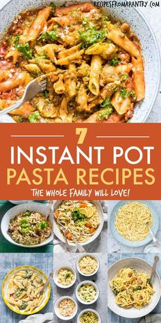 Four Kitchen Decorating Suggestions Which Can Be Cheap And Simple To Carry Out This Collection Of Tried And True Instant Pot Pasta Recipes Will Become Your Go-To Resource. Every one Of These Pressure Cooker Pasta Recipes Is Comforting, Satisfying And Full Instant Pot Pasta Recipe, Best Instant Pot Recipe, Instant Pot Dinner Recipes, Supper Recipes, Lunch Recipes, Healthy Recipes, Instant Recipes, Meal Recipes, Cookbook Recipes