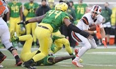 Column: DeForest Buckner won't live up to hype or numbers = DeForest Buckner is a 6'7″, 291-pound monster defensive lineman with long arms and huge hands. He had double-digit sacks as a 3-4 defensive end for the Oregon Ducks this year and was the.....
