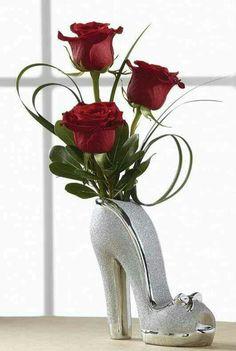 I need some high heel vases!