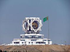 The Wedding Palace (Bagt köşgi). Ashgabat, Turkmenistan.