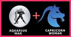 Aquarius man Capricorn woman relation is fascinating and they have an aloof approach about love. Manners of Capricorn hide sensuality to Aquarius.