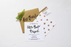 Little Babe Brunch Invites — Goodheart Design