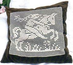 crochet em revista: Cavaleiro