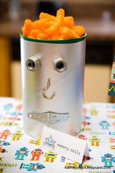 Nuts and Bolts | 22 Adorable Ideas For An Epic Robot-Themed Birthday Party
