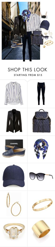 """""""These Shoes were made for Walking"""" by dey22 ❤ liked on Polyvore featuring moda, Topshop, Alexandre Vauthier, Vera Bradley, Chanel, Whistles, Balmain, Bony Levy, Cachet ve BEA"""