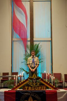 centerpieces eagle scout ceremony | Howie's Eagle Ceremony | Eagle Scout Court of Honor Ideas