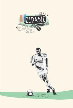 Soccer stars 1 by Sebastián Correa, via Behance