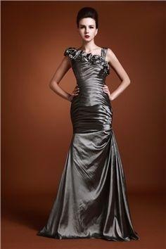 Gorgeous Ruffles Mermaid Floor-length Luba's Mother of the Bride Dress EF42819