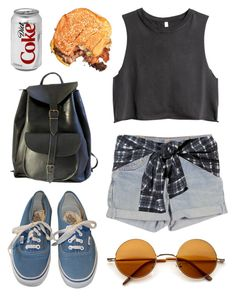 """""""Roadhouse"""" by junk-food ❤ liked on Polyvore featuring H&M, Levi's, Vans and 3.1 Phillip Lim"""