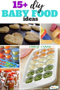 Easy diy homemade Baby Food Recipes for infants to toddlers. Baby Food Recipes Stage 1, Quick Lunch Recipes, Chicken Baby Food, Baby Food Mill, Banana Baby Food, Healthy Baby Food, Baby Food Storage, Food Mills, Baby Puree Recipes