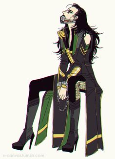 mafiaprinceza:    This is without a doubt my favorite Lady Loki fanart of all I've seen thus far.