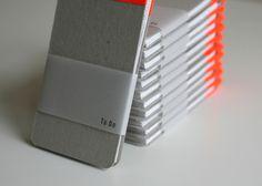To Do Notebooks by Kat Gilbert, via Behance