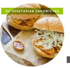 Vegetarian sandwiches and so many more great vegetarian recipes on this awesome website.