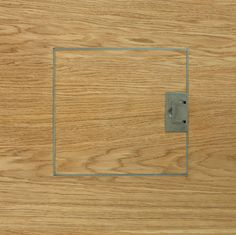 Element 7 | exceptionally engineered wide plank floors | Grain end matched - electrical floor socket