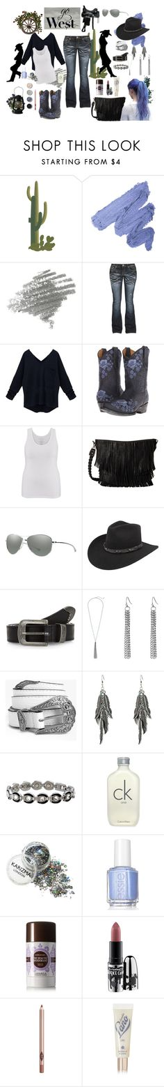 """""""Plus size fashion -Go West"""" by angela-coyner on Polyvore featuring Old Gringo, maurices, M&F Western, Smith, Bailey Western, New Look, Boohoo, Sabona, Calvin Klein and Terre Mère"""
