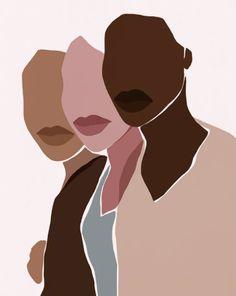 Black Girl Art, Black Women Art, Black Art, Watercolor Illustration, Graphic Illustration, Watercolor Art, Female Art, Les Oeuvres, Art Inspo