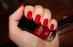 Chanel Pirate - the perfect true red