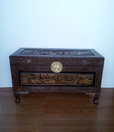 Antique Chinese Camphor Wooden Chest By EllasTreasureTrove On Etsy  Https://www.etsy