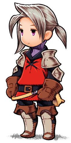 Luneth - Warrior from Final Fantasy III (DS)