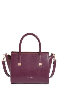Ted Baker London Ted Baker London Tabatha Leather Satchel available at #Nordstrom