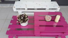 Easy and Cute DIY Outdoor Pallet Furniture