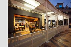 Malibu Fish Grill restaurant at Sunset and Crescent in 2011, by Valerio Architects.