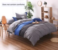 Looking for great YOUSA Striped Bedding Set Fashion Mens Boys Bedding Duvet Cover Set Blue Full by cheap price? Click and order it with Worldwide delivery! Striped Bedding, Duvet Bedding, Bedding Set, Bed Linens Luxury, Duvet Cover Sets, Bedclothes, Solid Oak Bedroom Furniture, Bed, Patterned Bedding Sets