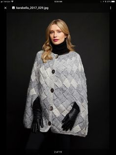 Knitwear, Coat, Jackets, Design, Fashion, Down Jackets, Moda, Sewing Coat, Tricot
