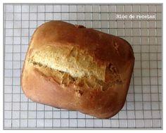 Bloc de recetas: Pan de espelta con nueces y orejones en panificadora Pan Comido, Pan Bread, Mediterranean Recipes, Sin Gluten, Hot Dog Buns, Cooking Recipes, Eat, Desserts, Food