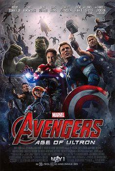 [ AVENGERS: AGE OF ULTRON: (original poster, 2015) https://www.movieposter.com/poster/MPW-101202/Avengers_Age_of_Ultron.html