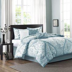 Madison Park Vienna 7 Piece Comforter Set & Reviews | Wayfair