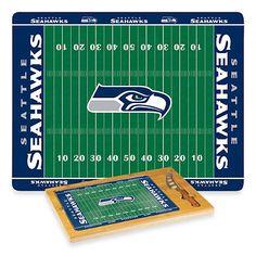 Picnic Time® NFL Seattle Seahawks Icon Wood Cutting Board Set - BedBathandBeyond.com