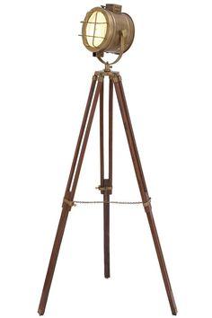 Tall corner spotlight lamp for the library.  Studio Spotlight - Floor Lamps - Lamps - Lighting | HomeDecorators.com