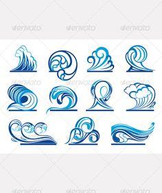 Wave Symbols - Decorative Symbols Decorative