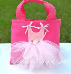 Items similar to Small Size Ballerina Tutu Tote Gift Bag - B.- Items similar to Small Size Ballerina Tutu Tote Gift Bag – Ballet Party Favor on Etsy Ballerina Tutu Tote Gift Bag Ballet Party by FairyTotesCouture - Ballerina Tutu, Ballet Tutu, Ballerina Birthday Parties, Fabric Bags, Girls Bags, Handmade Bags, Felt Crafts, Gifts For Kids, Purses And Bags