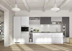 Cucina Seta Essebi laccata bianca opaca | Kitchen | Pinterest