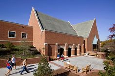 University of Richmond Heilman Dining Center - BCWH Architects