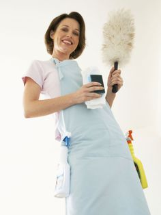 Professional cleaners. They have the tools, the talent and the know-how to make short work of cleaning a house. Learn their secrets to speed cleaning chores in your organized home.
