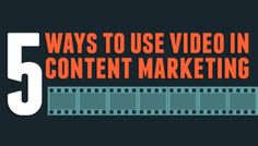 5 Ways to Use Video to Market Your Business #jodiesTools