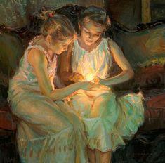A arte do Pintor Daniel Gerhartz Art And Illustration, Fine Art, Beautiful Paintings, Oeuvre D'art, Female Art, Painting & Drawing, Light Painting, Amazing Art, Art For Kids